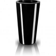 Вазон конусный черный