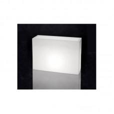 Вазон с подсветкой прямоугольный