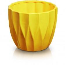 Вазон желтый