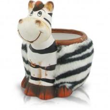 Горшок-зебра